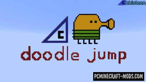 Doodle Jump - Speedrun Parkour Map For MC