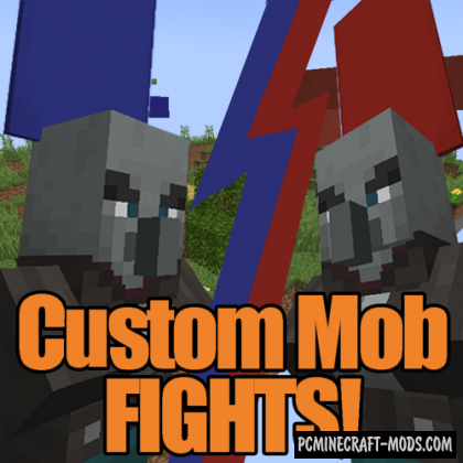 Custom Mob Fights - Arena Map For Minecraft
