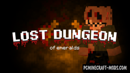 The Lost Dungeon of Emeralds Map For Minecraft