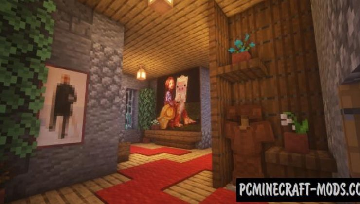 SteamPunk Mansion Map For Minecraft