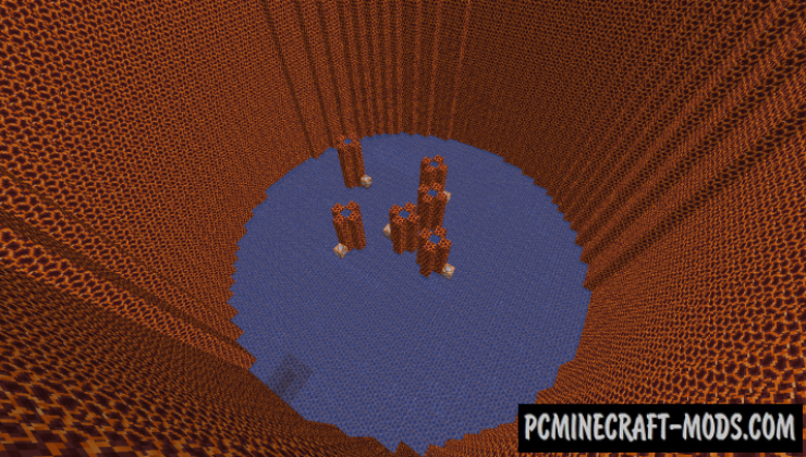 Easy Dropper - Parkour Map For Minecraft
