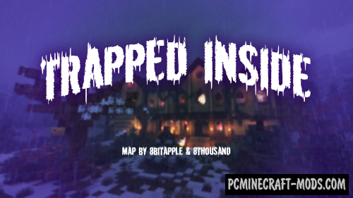 Trapped Inside - Horror, Puzzle Map For MC