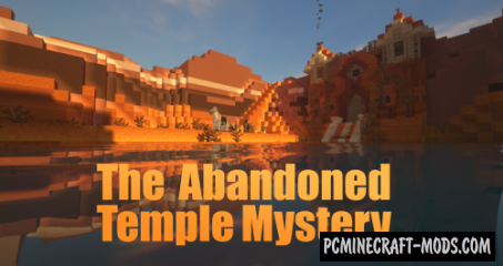 The Abandoned Temple Mystery Map For Minecraft