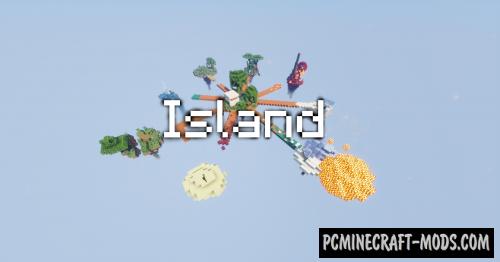 Island - Adventure, Survival Map For Minecraft