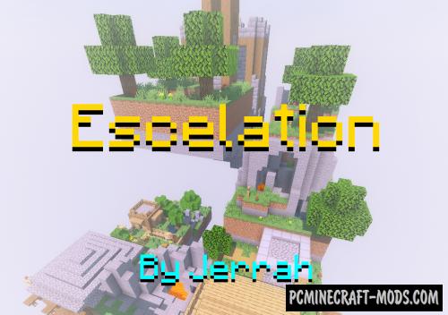 Escalation - Parkour Map For Minecraft