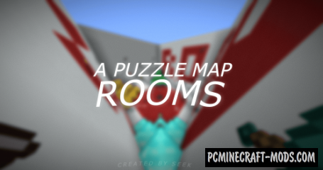 Rooms: A Simple Puzzle Map For Minecraft