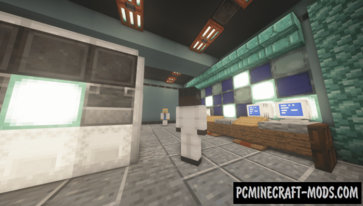Half Life - 1 (c1a0) - Adventure Map For Minecraft