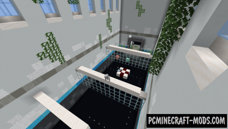 Moving Parkour Map For Minecraft