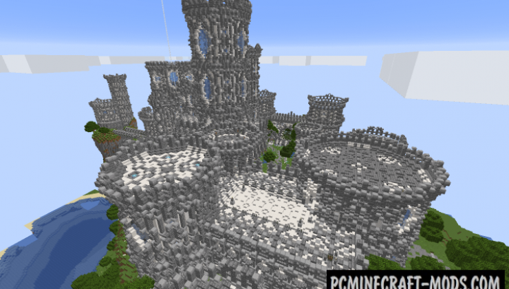 South Kingdom - White Citadel Map For Minecraft
