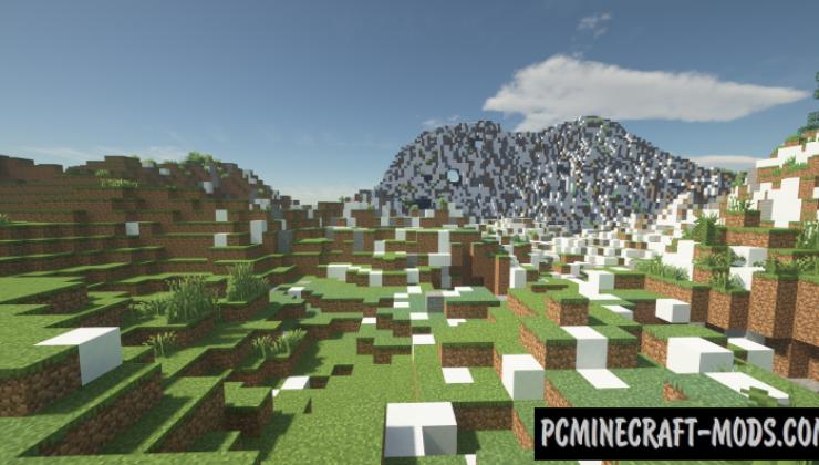 SuperWorld - Generation Minecraft Map For Minecraft