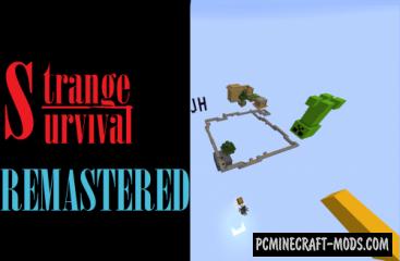 Strange survival: Remastered Map For Minecraft
