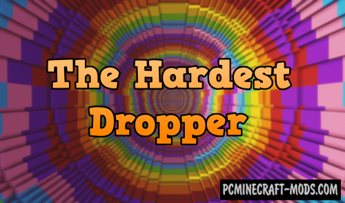 The Hardest Dropper Map For Minecraft